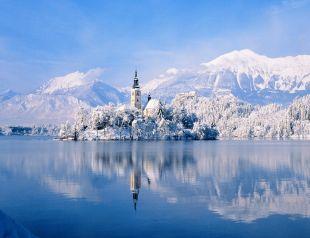 Szlovénia a téli mesevilág