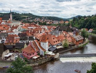 Český Krumlov, a cseh meseváros